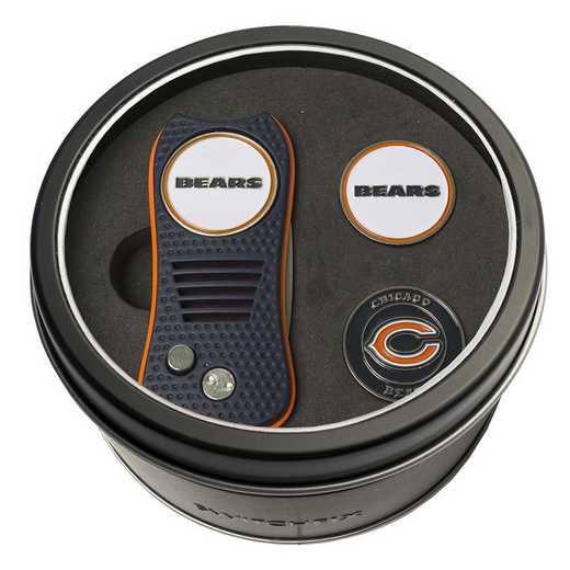 30559: Tin GftSt Swtchfix 2BallMkrs Chicago Bears