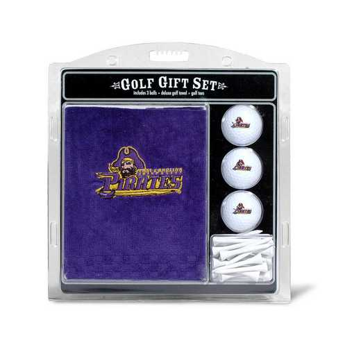 24620: Embr Golf Twl3Golf BallGolf Tee St East Carolina Pirates