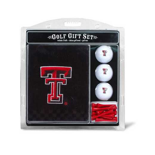 25120: Embr Golf Twl3Golf BallGolf Tee St Texas Tech Red Raiders
