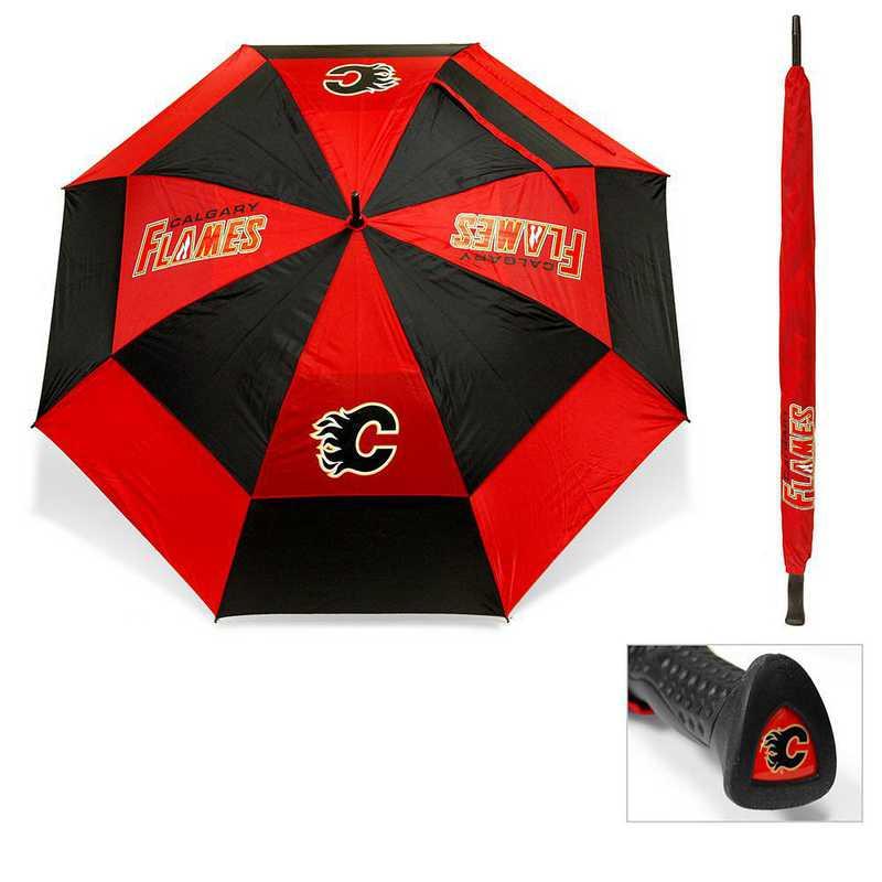 13369: Golf Umbrella Calgary Flames