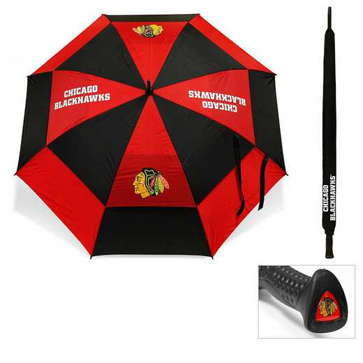 13569: Golf Umbrella Chicago Blackhawks