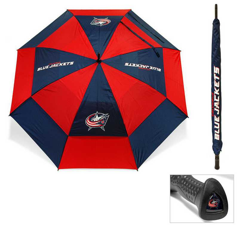 13769: Golf Umbrella Columbus Blue Jackets