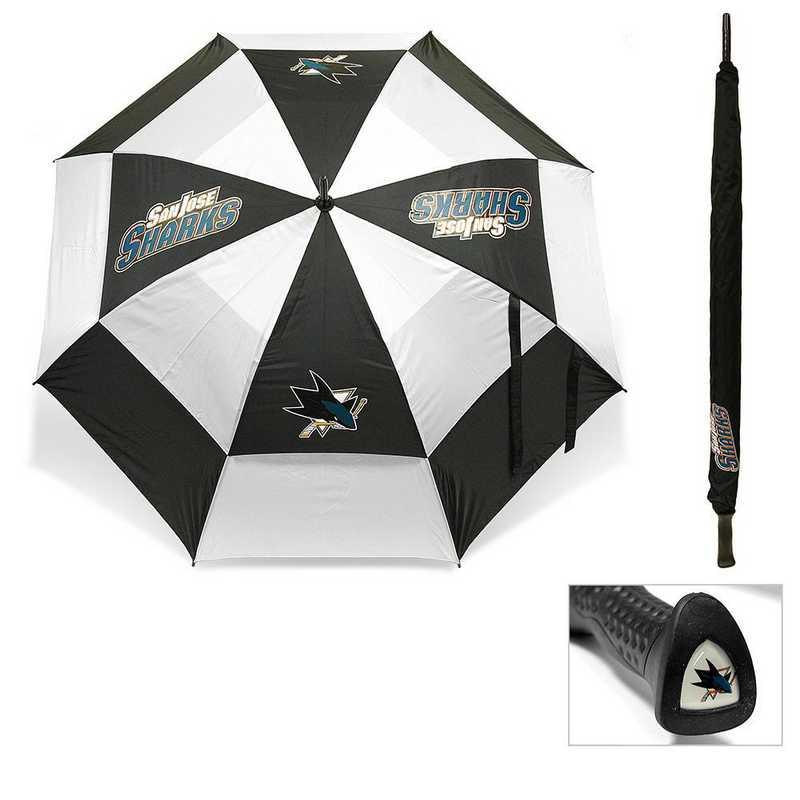 15369: Golf Umbrella San Jose Sharks