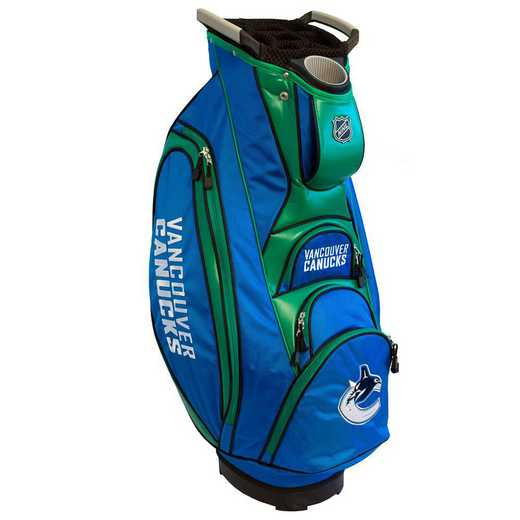 15773: Victory Golf Cart Bag Vancouver Canucks