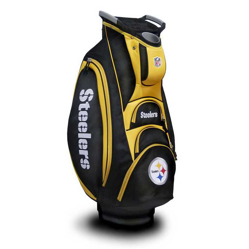 32473: Victory Golf Cart Bag Pittsburgh Steelers