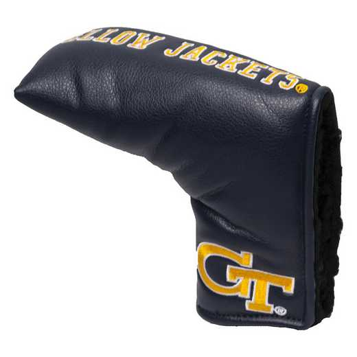 21250: Vintage Blade Putter Cover Georgia Tech Yellow Jackets