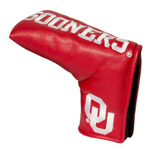 24450: Vintage Blade Putter Cover Oklahoma Sooners