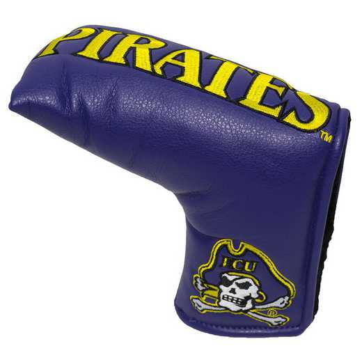 24650: Vintage Blade Putter Cover East Carolina Pirates