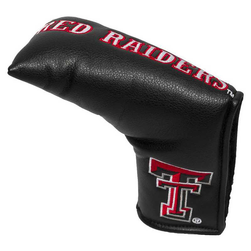 25150: Vintage Blade Putter Cover Texas Tech Red Raiders