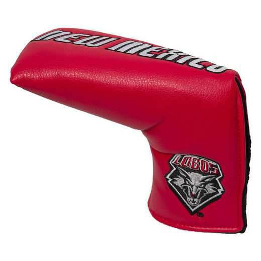 28050: Vintage Blade Putter Cover New Mexico Lobos
