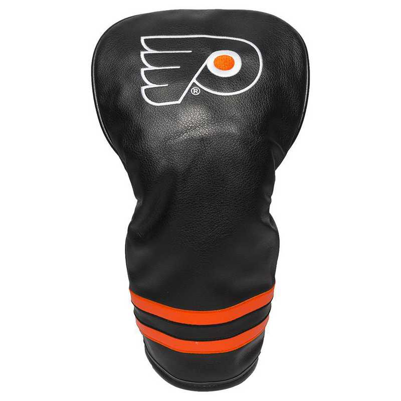 15011: Vintage Driver Head Cover Philadelphia Flyers