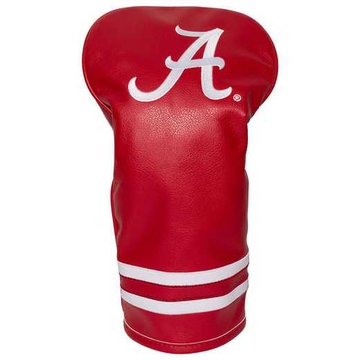 20111: Vintage Driver Head Cover Alabama Crimson Tide
