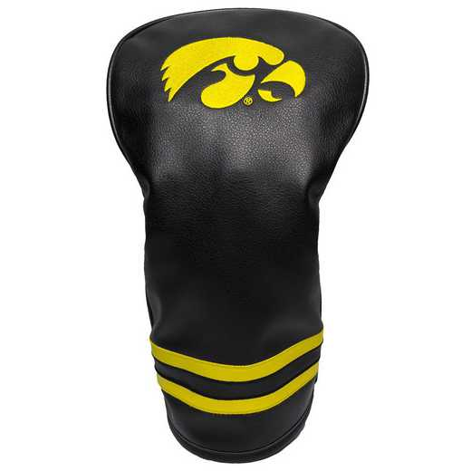 21511: Vintage Driver Head Cover Iowa Hawkeyes
