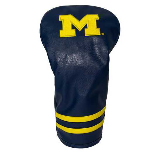 22211: Vintage Driver Head Cover Michigan Wolverines
