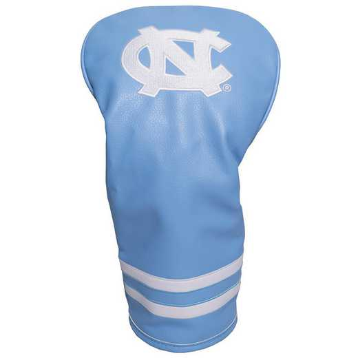 22511: Vintage Driver Head Cover North Carolina Tar Heels