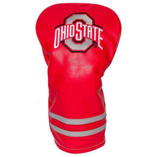 22811: Vintage Driver Head Cover Ohio State Buckeyes