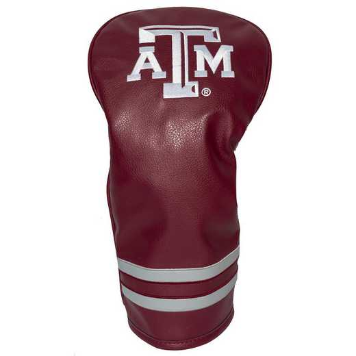 23411: Vintage Driver Head Cover Texas A&M Aggies