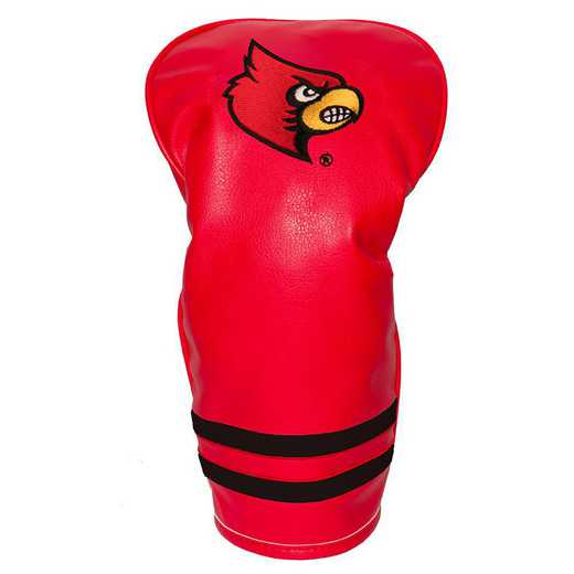24211: Vintage Driver Head Cover Louisville Cardinals