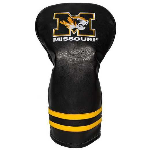 24911: Vintage Driver Head Cover Missouri Tigers