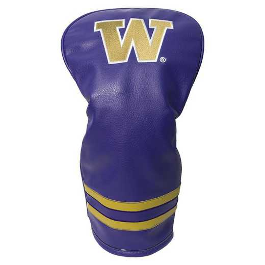 28511: Vintage Driver Head Cover Washington Huskies