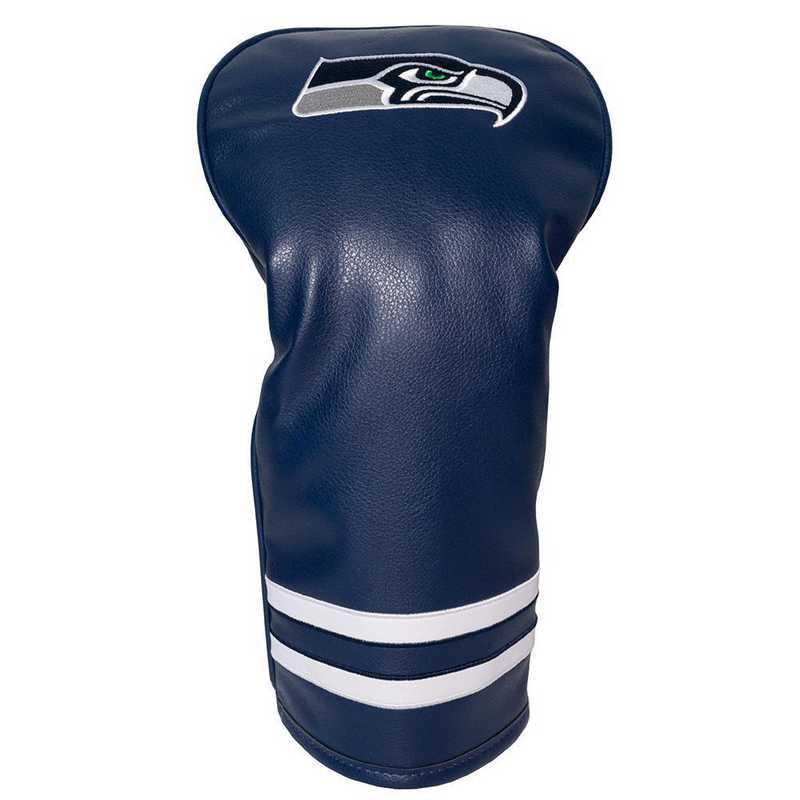 32811: Vintage Driver Head Cover Seattle Seahawks