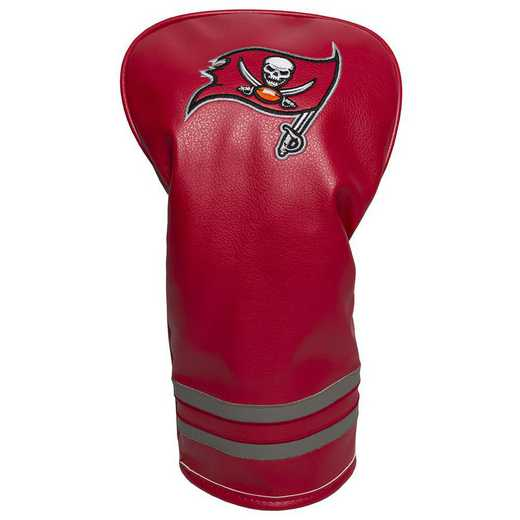 32911: Vintage Driver Head Cover Tampa Bay Buccaneers