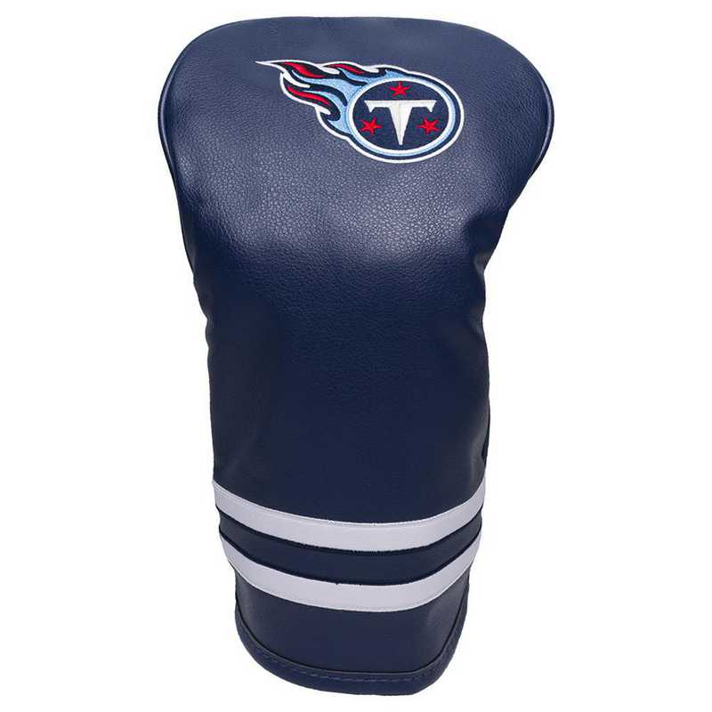 33011: Vintage Driver Head Cover Tennessee Titans