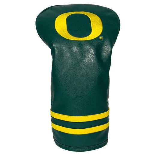 44411: Vintage Driver Head Cover Oregon Ducks