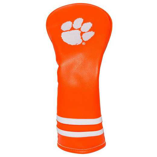 20626: Vintage Fairway Head Cover Clemson Tigers