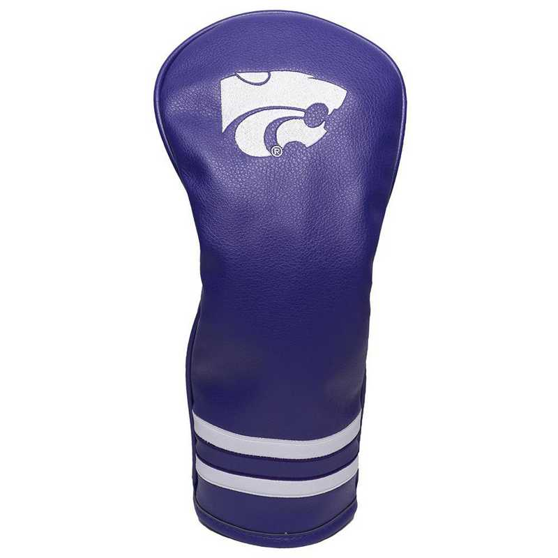 21826: Vintage Fairway Head Cover Kansas State Wildcats