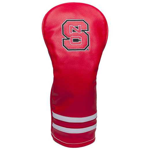 22626: Vintage Fairway Head Cover NC State Wolfpack