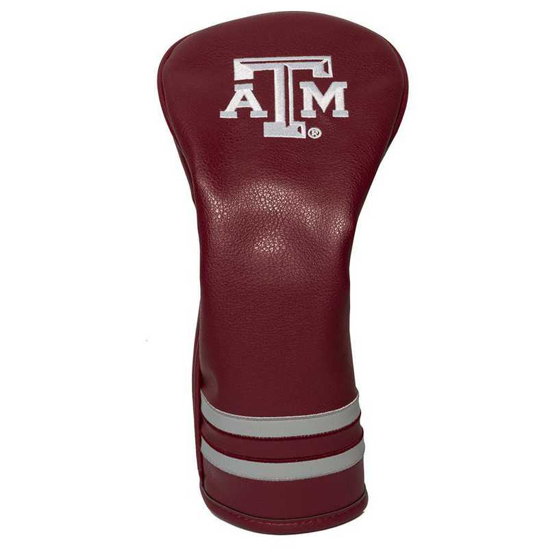 23426: Vintage Fairway Head Cover Texas A&M Aggies