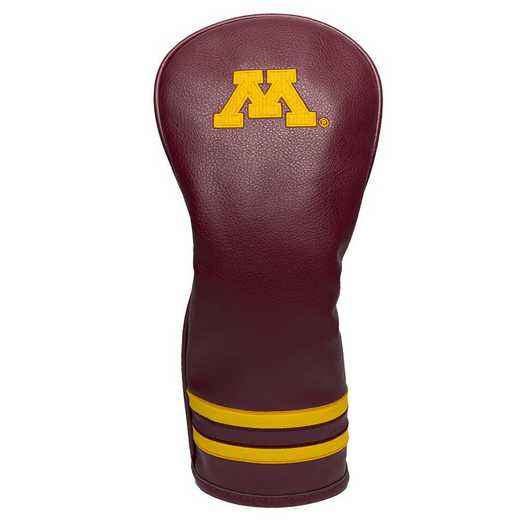 24326: Vintage Fairway Head Cover Minnesota Golden Gophers