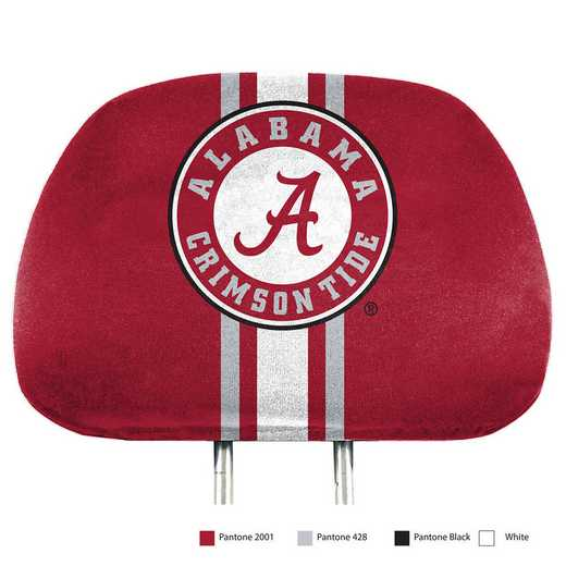 HRPU002: Alabama Printed Auto Headrest Cover Set