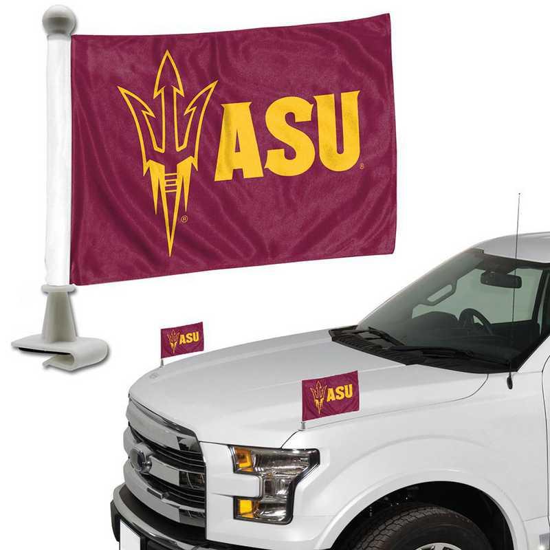 ABFU004: Arizona State Auto Ambassador Flag Pair