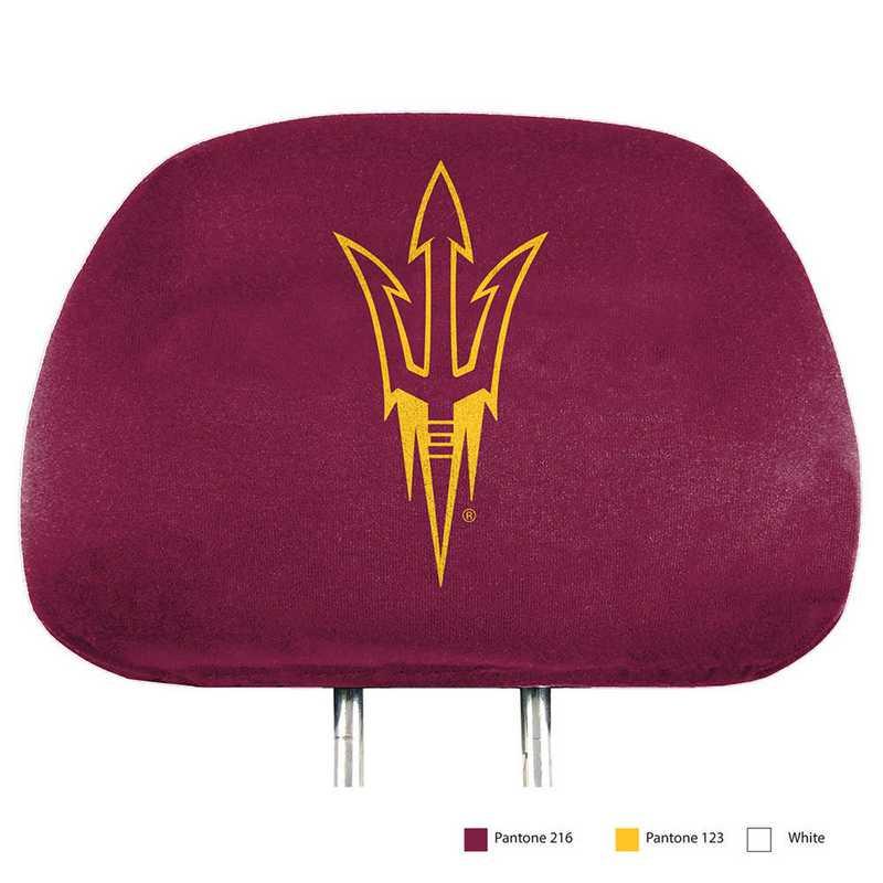 HRPU004: Arizona State Printed Auto Headrest Cover Set