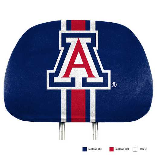 HRPU003: Arizona Printed Auto Headrest Cover Set