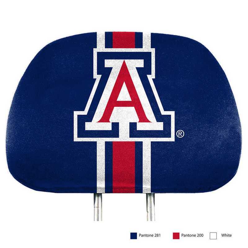 HRPU003: Arizona Printed Auto Headrest Cover Set