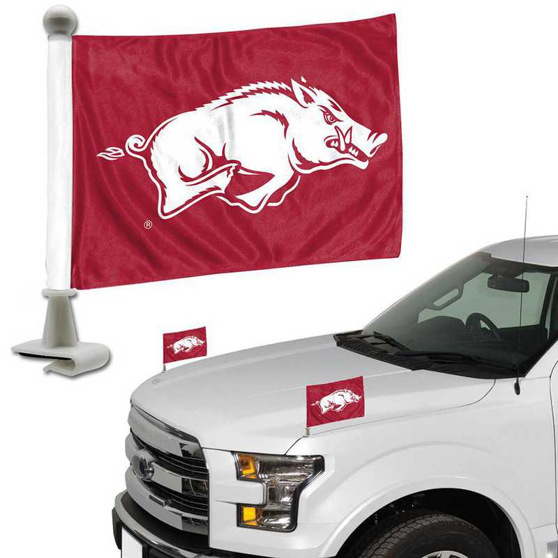 ABFU010: Arkansas Auto Ambassador Flag Pair