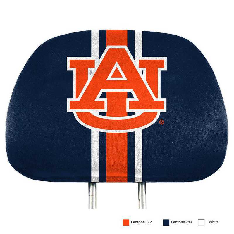 HRPU007: Auburn Printed Auto Headrest Cover Set