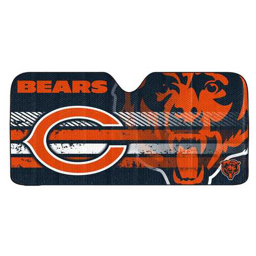 AS2NF06: Chicago Bears Universal Auto Sun Shade