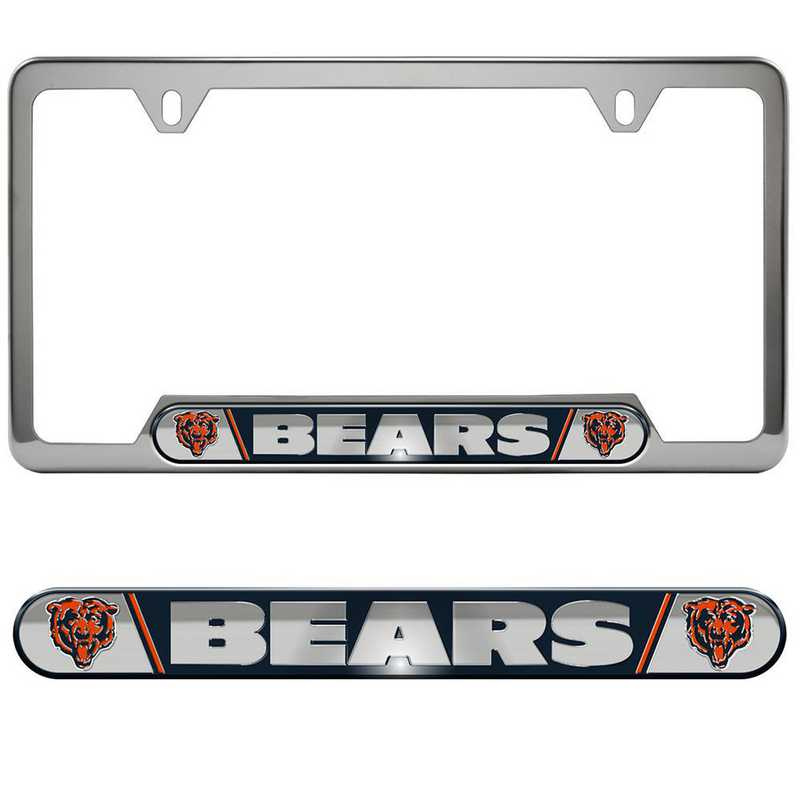 FRUNF06: Chicago Bears Auto Tag Frame