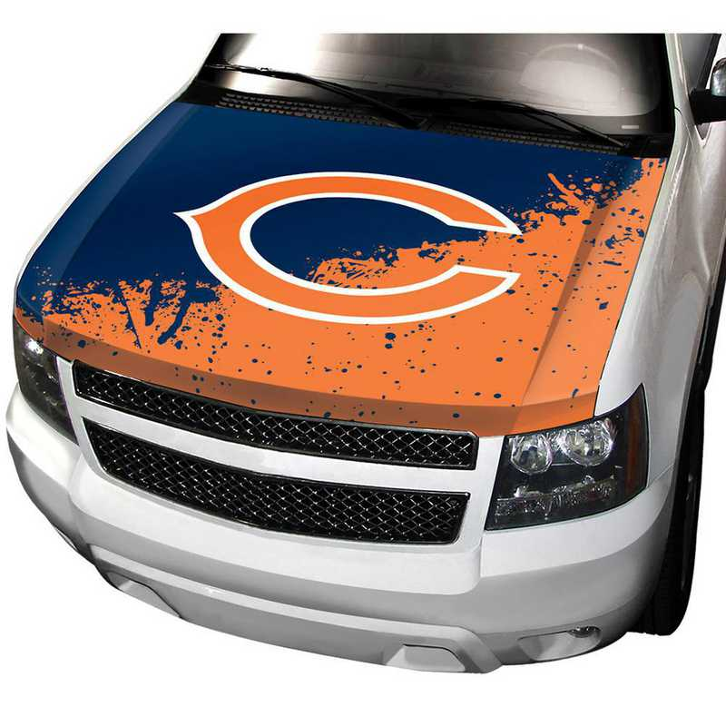HCNF06: Chicago Bears Auto Hood Cover
