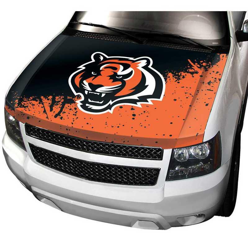 HCNF07: Cincinnati Bengals Auto Hood Cover
