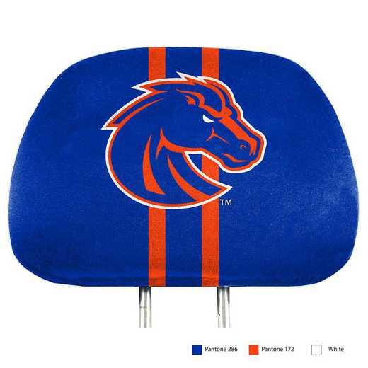 HRPU009: Boise State Printed Auto Headrest Cover Set