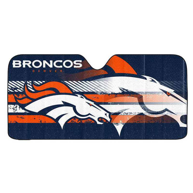 AS2NF10: Denver Broncos Universal Auto Sun Shade