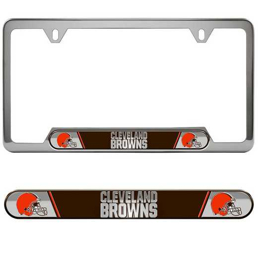 FRUNF08: Cleveland Browns Auto Tag Frame