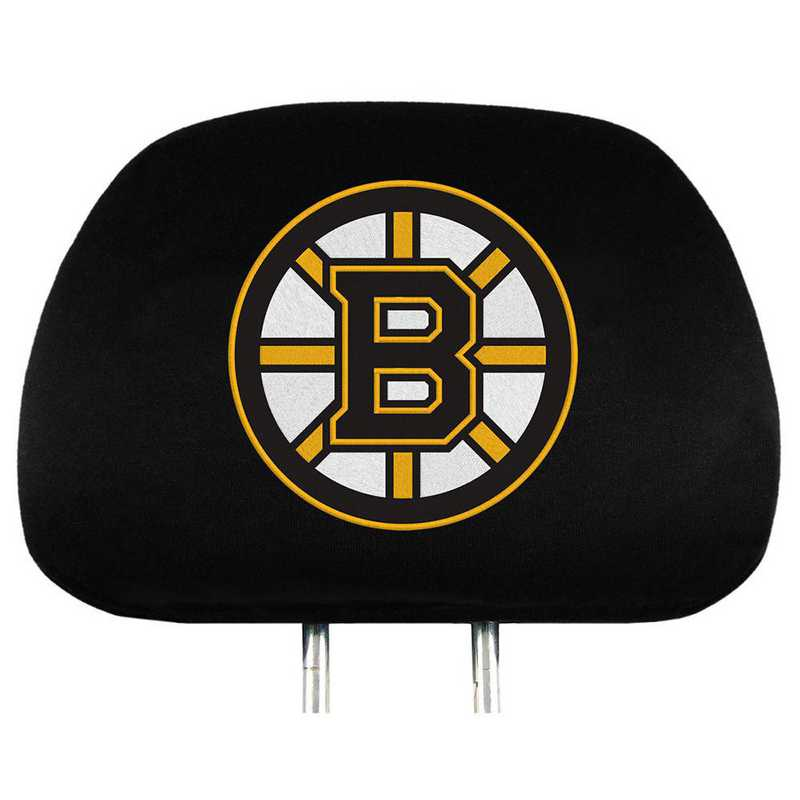 HRNH02: Boston Bruins Embroidered Headrest Cover Set
