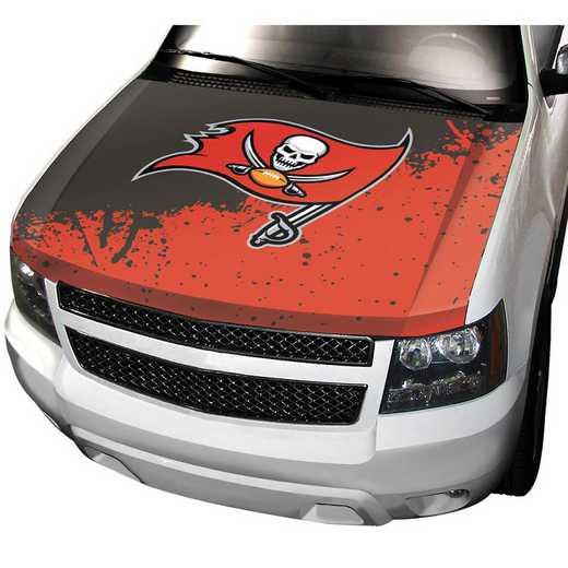 HCNF29: Tampa Bay Buccaneers Auto Hood Cover