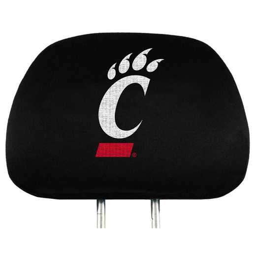 HRU013: Cincinnati Embroidered Headrest Cover Set